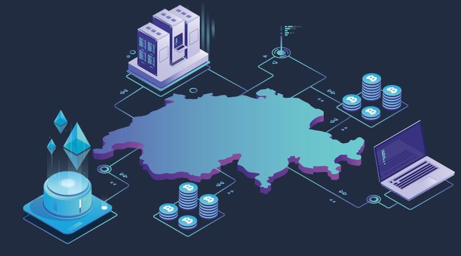 Switzerland crypto friendly map