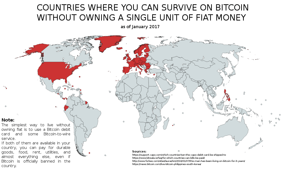 which countries have banned cryptocurrency